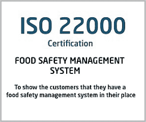 ISO 22000 Certification France